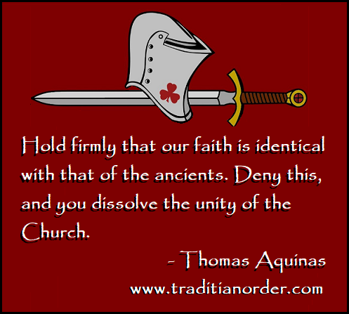 Traditian Aquinas on Ancients